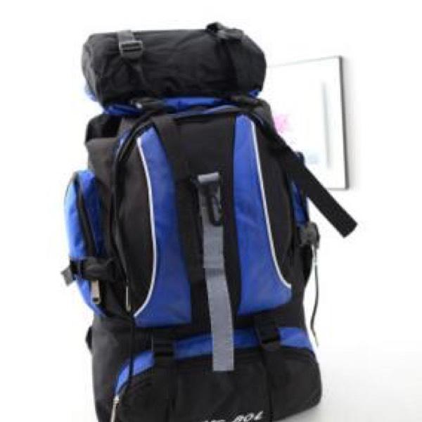 Beg Besar Backpack Kembara (M1) - Black2