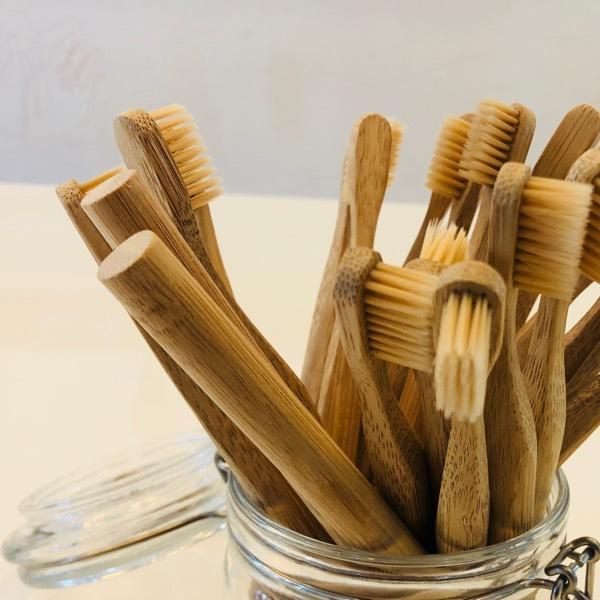 Bamboo Bristle Toothbrush 0