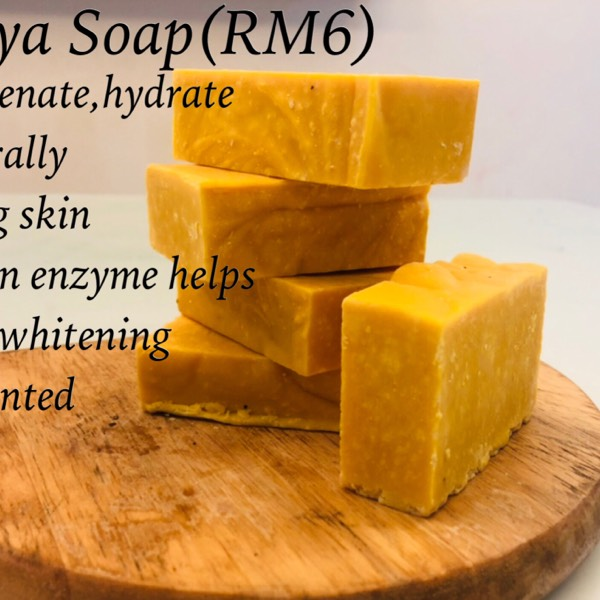 Papaya Fruit Soap0