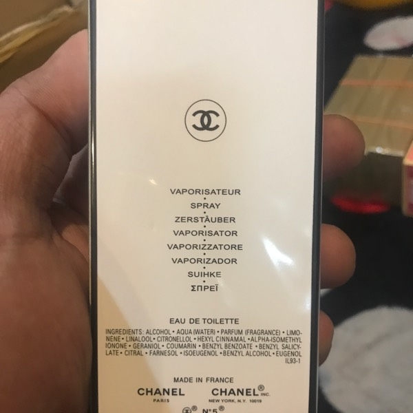Chanel No 5 L'eau 20ml1