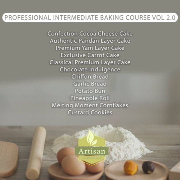 Intermediate Baking Course 2.0 Saturday 2pm0