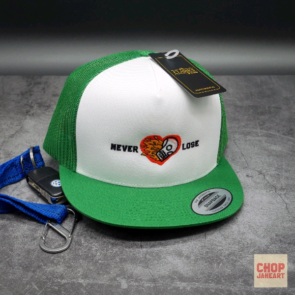 Never Lose Trucker Cap0