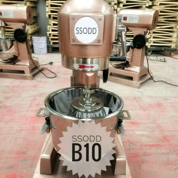 B10 Heavy Duty Food Mixer Industrial Grade SSODD