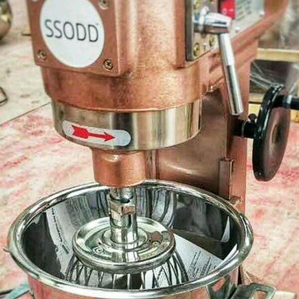 B10 Heavy Duty Food Mixer Industrial Grade SSODD1