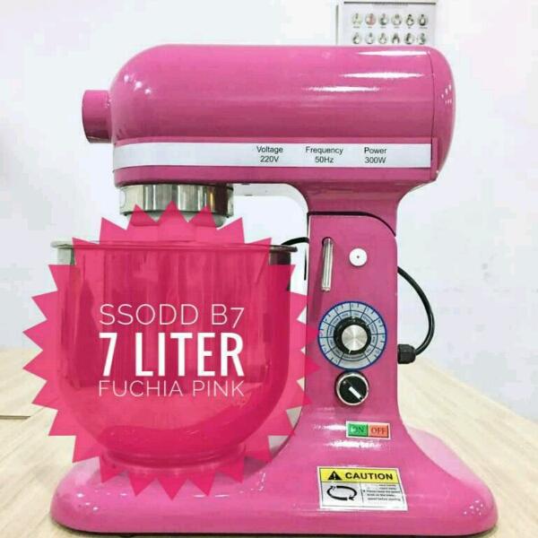 B7 7liter Fuchias Pink Heavy duty Stand Mixer SSODD