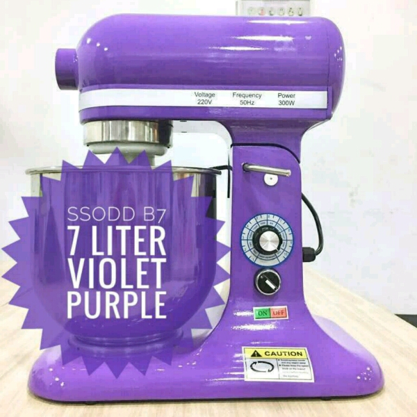 B7 7liter Violet Purple Heavy duty Stand Mixer SSODD