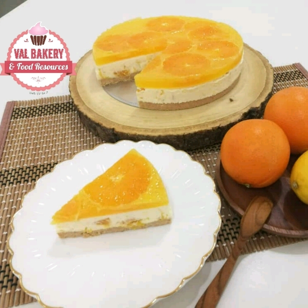 "6"" Orange Cheesecake"