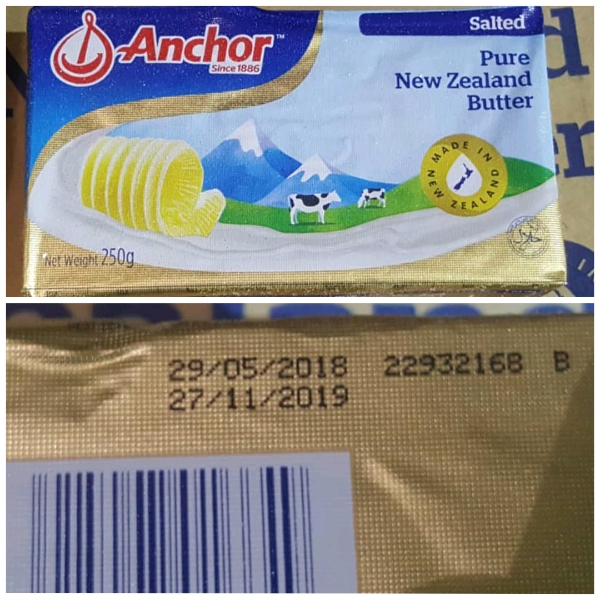 Anchor Salted Butter 250g0