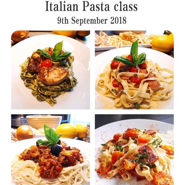 Italian Pasta Class