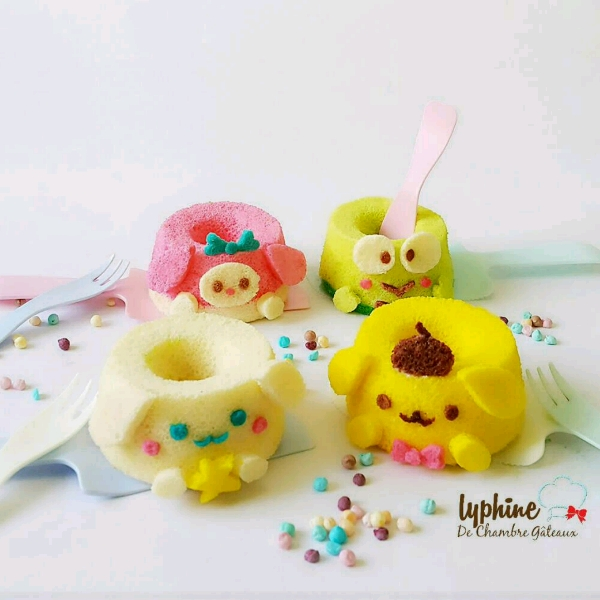 Sanrio Cartoon character mini chiffon cake workshop (Hands-on)