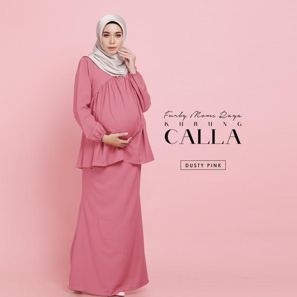 Calla Kurung Dusty Pink0