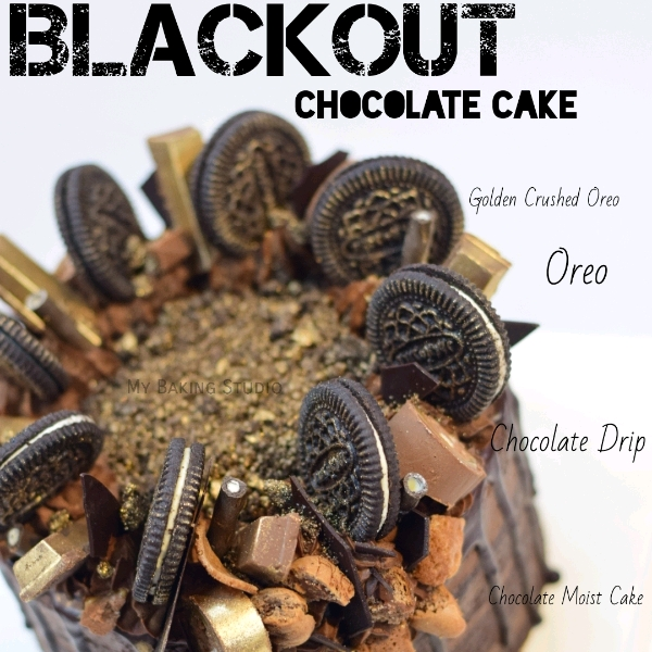 Blackout Chocolate Cake Workshop (27 APR)