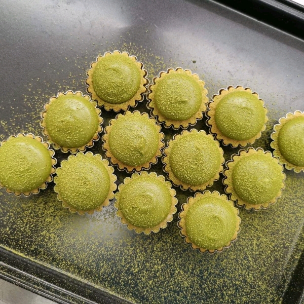 Matcha White Chocolate Lava Cheese Tart Workshop (11 MAY)1