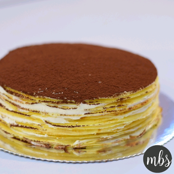 Tiramisu Mille Crepes Workshop (13 APR)
