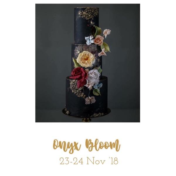 Floral Cakes Workshop - Onyx Bloom0