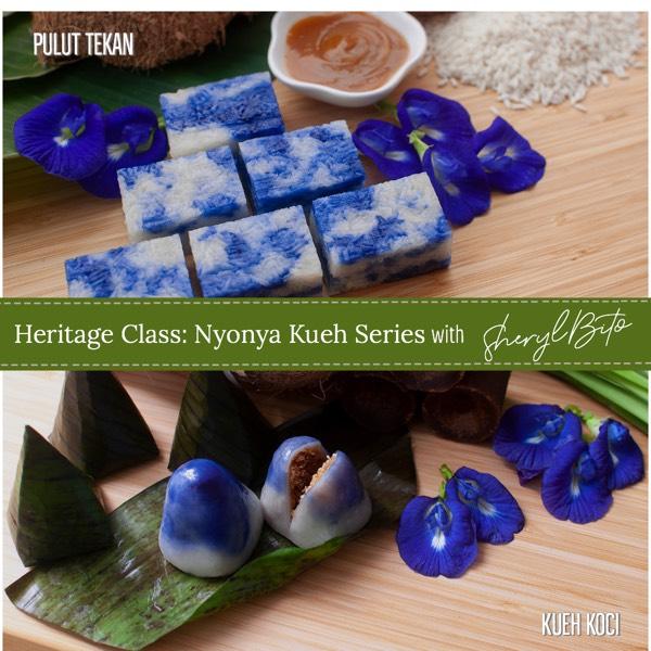 Heritage Class: Nyonya Kueh Series - Pulut Tekan & Kueh Koci1