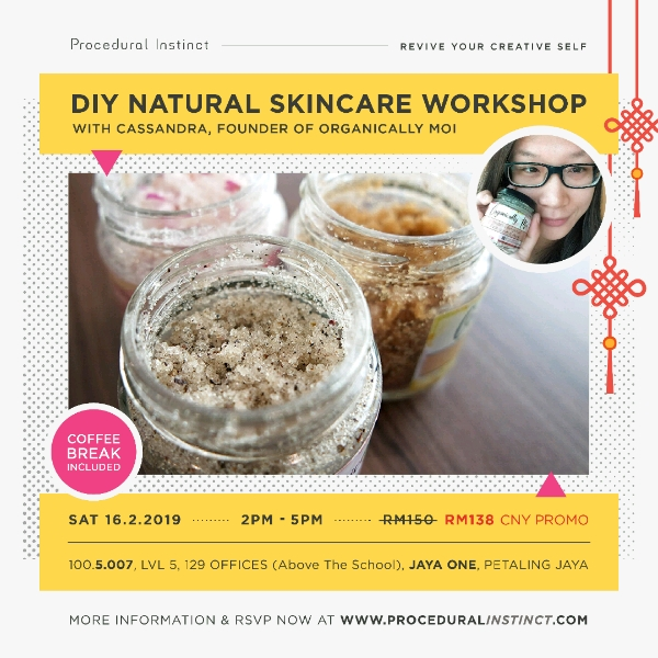 WORKSHOP: DIY NATURAL SKINCARE