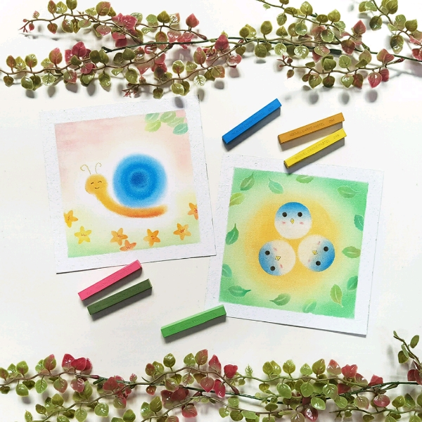 WORKSHOP: Pastel Nagomi Art ~ For Kids