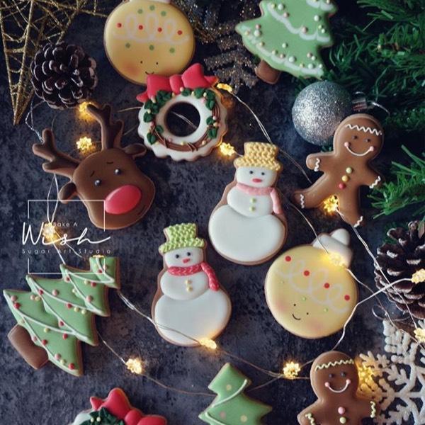 圣诞糖霜饼干基础课 8 Dec 20180