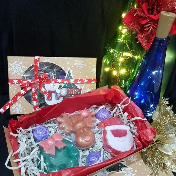 2 x Christmas Soap Gift Set0