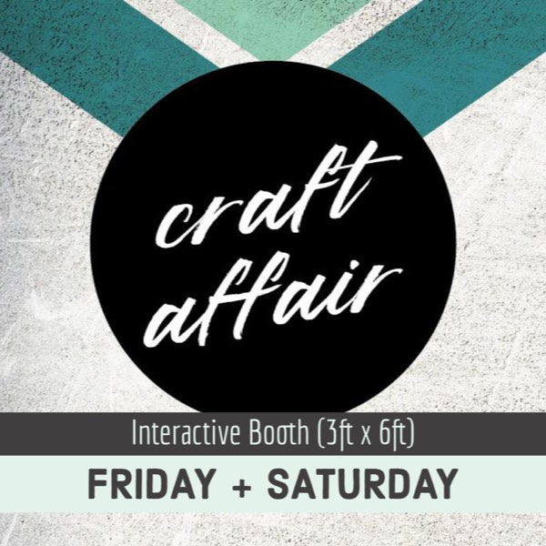 CA Interactive Booth: 2 Days (3x6)0
