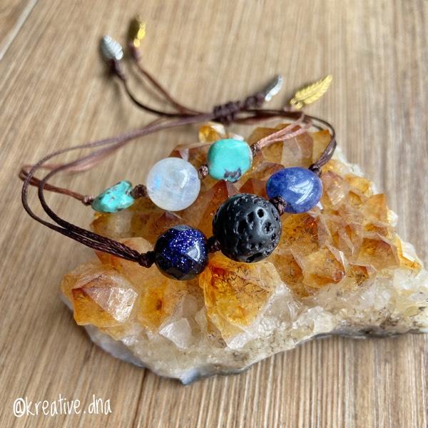 Chakra Reading + Custom Crystal Grid + Bracelet/Keychain2
