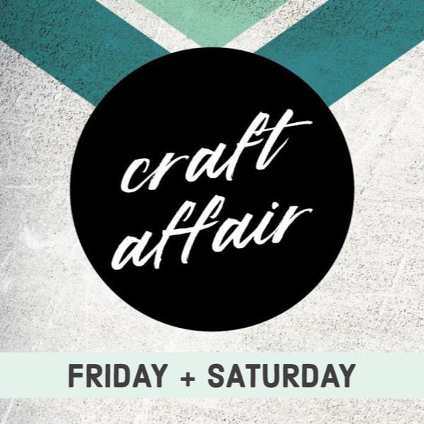 Craft Affair Vendor Booth: 2 Days0