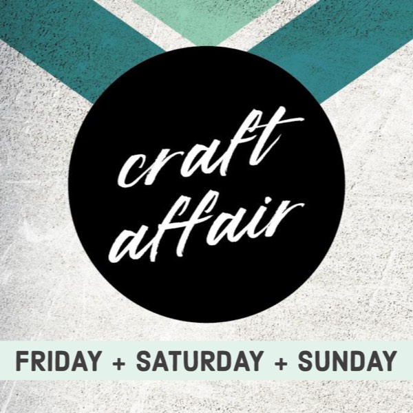 Craft Affair Vendor Booth: 3 Days0