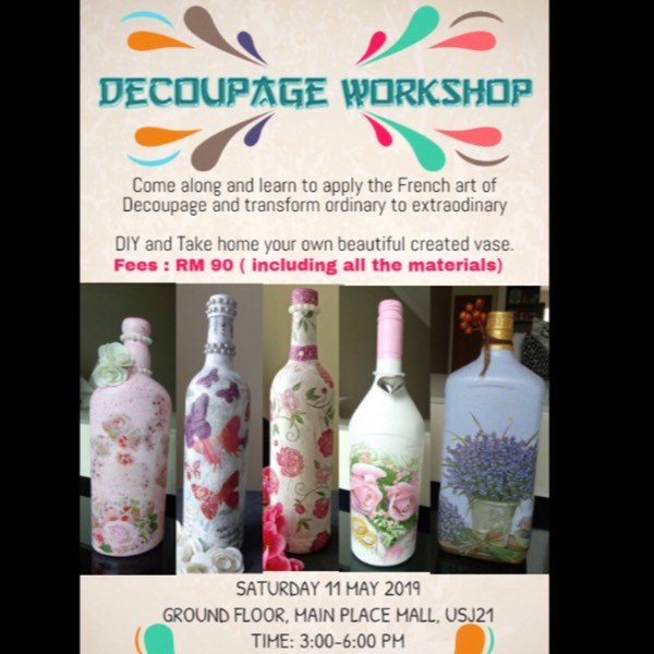 Decoupage Workshop by Vijaya0