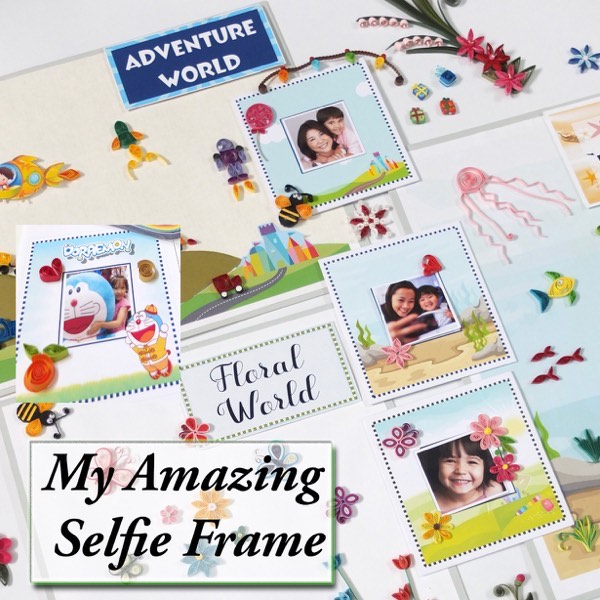 """My Selfie Photo Frame"" Workshop By QuillJoy (Sun)0"