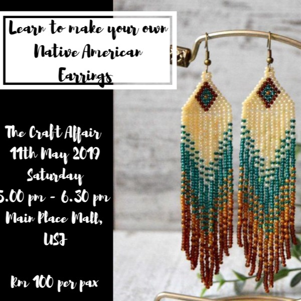 Native American Earring Workshop0