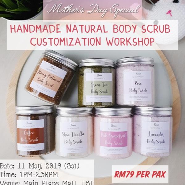 Natural Body Scrub Customisation Workshop0