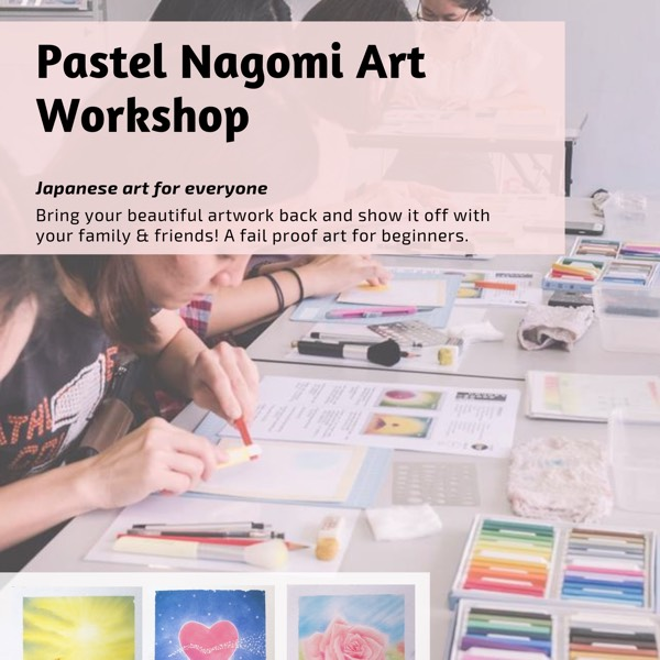 Pastel Nagomi Art Workshop0