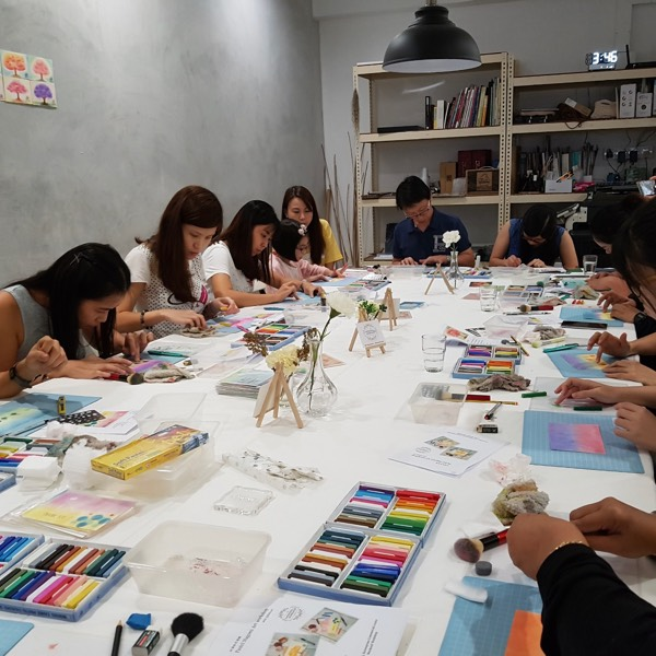 Pastel Nagomi Art Workshop3