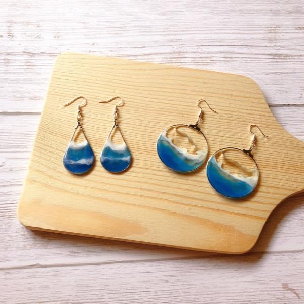 The Craft Surge Seascape Resin Earrings Workshop (Sat)0