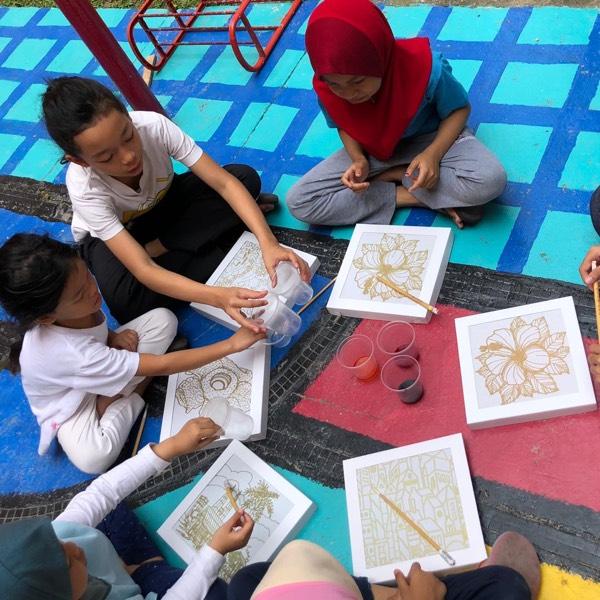 Teja Studio Malaysian Art & Craft (Batik Painting workshop) 2