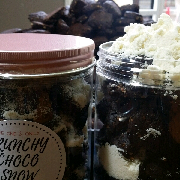 Crunchy Choco Snow Cookies0