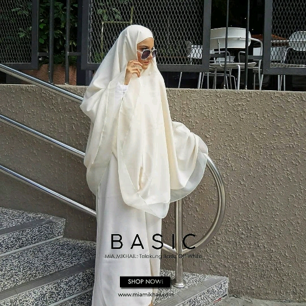 Basic Off White + Bag + Mini Sejadah1