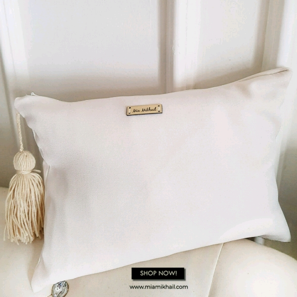 Clutch Bag OFF WHITE1