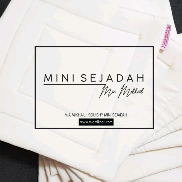 Squishy Mini Sejadah Off White0