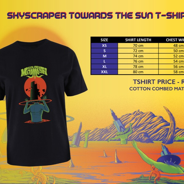Skyscraper Towards The Sun TShirt0