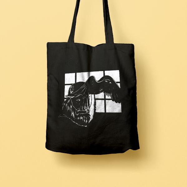 LUST / Engku Iman Tekesima Tote Bag2