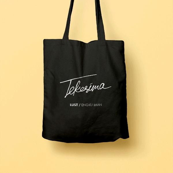 LUST / Engku Iman Tekesima Tote Bag3