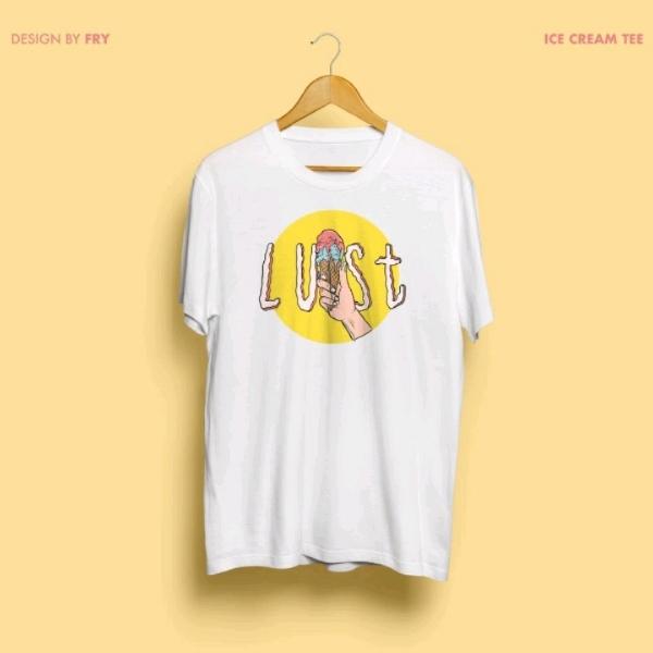 (XS) LUST Ice Cream Shirt, By Fry Yusof0