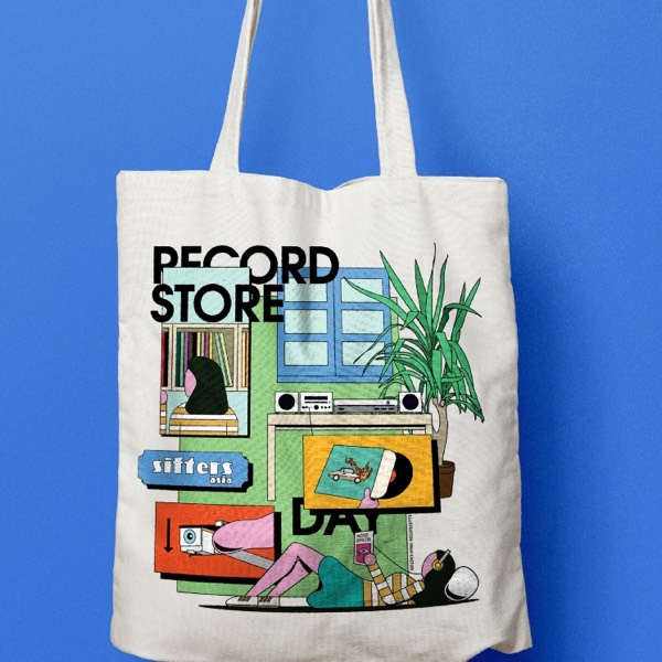 Limited Edition: Sifters Asia Totebag (White)0