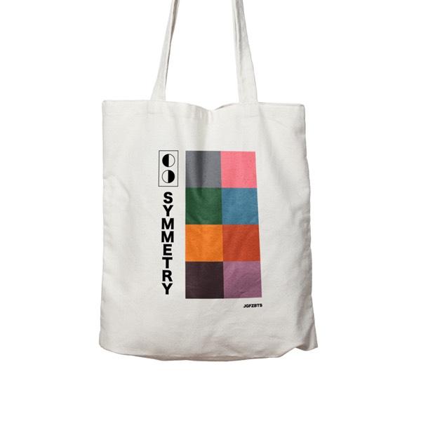 JGFZ Rose Tee + Symmetry Totebag EZ Pack - Shirt Size M2