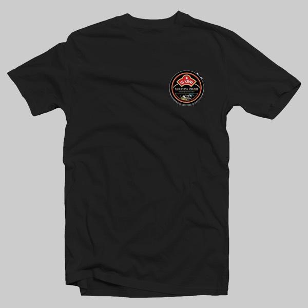 SI KIWI Tshirt (M) BLACK (Postage)0