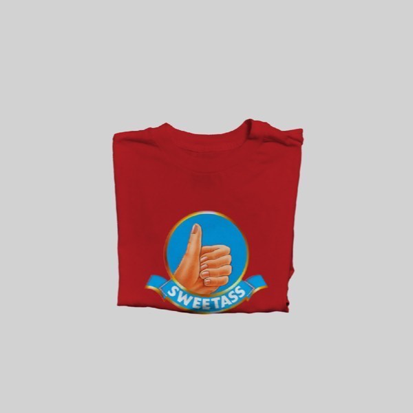 WCL RED T-Shirt (M 2 + L 2)0