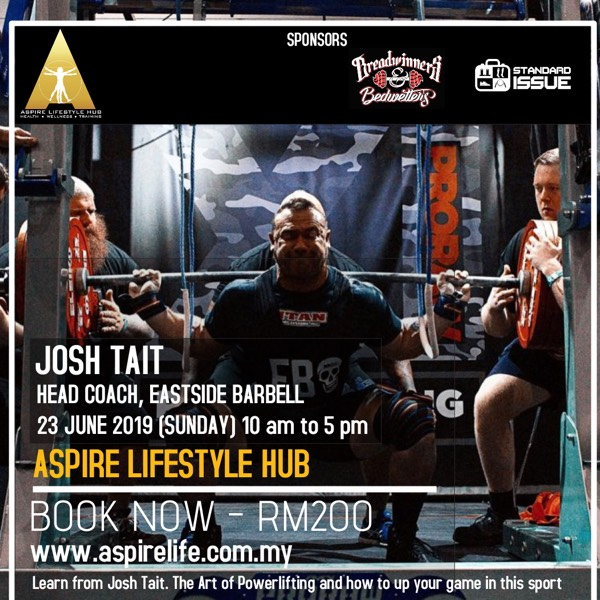 Josh Tait - The Art Of Powerlifting 0