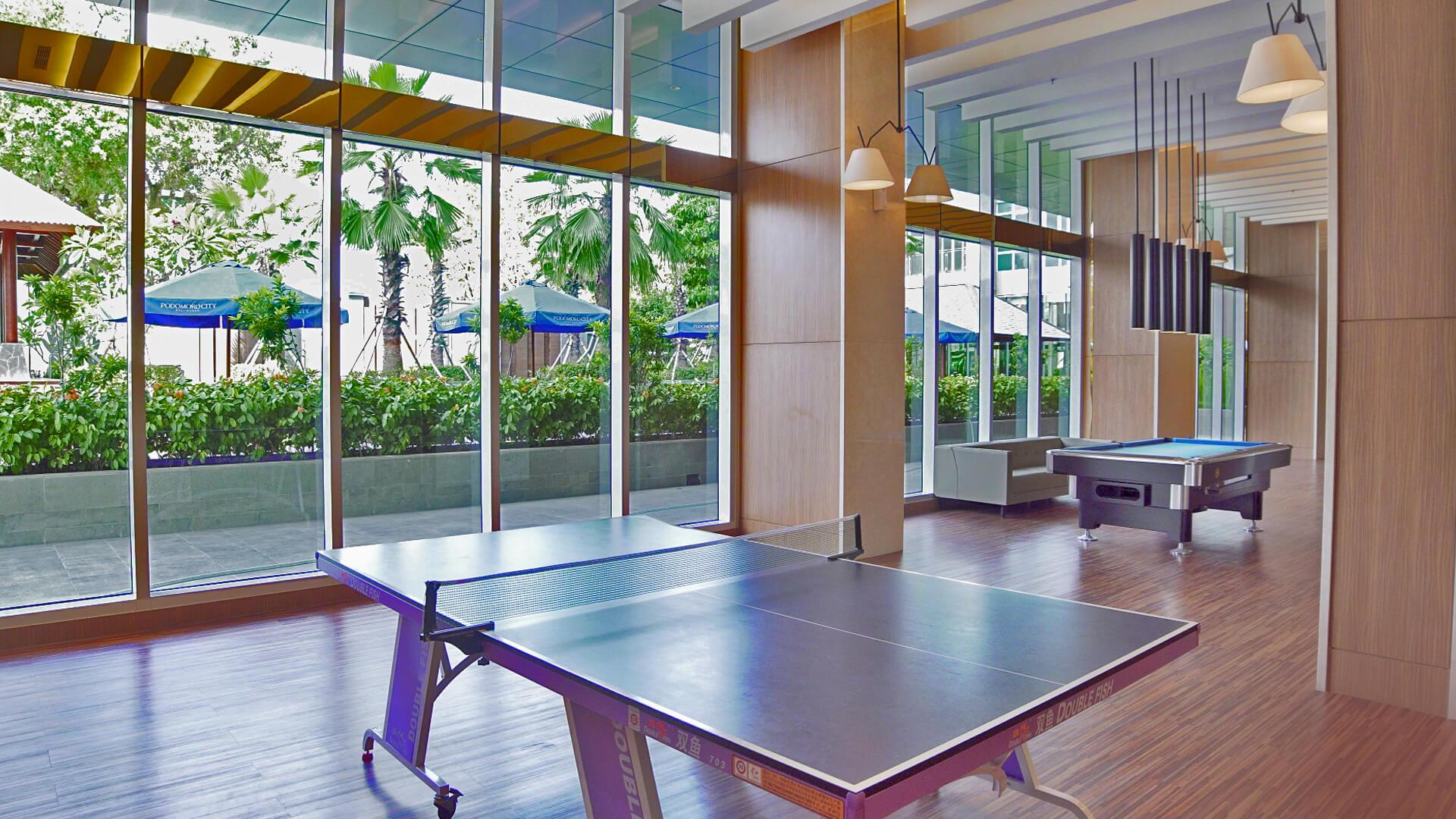 Indoor Facilities di Podomoro City Deli Medan